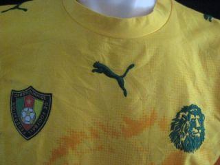 Puma Cameroon Camerounaise Adult Large Football Soccer Jersey World