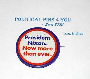 Campaign Pin Pinback Button Political Richard Nixon 68