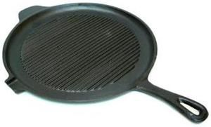 Pre Seasoned Cast Iron 11 25 Round Griddle Camping Cookware
