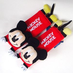 Mickey Mouse Car Seat Belt Cover Shoulder Pad