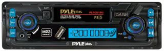 stereo plrcs19u new am fm dual band radio digital car cassette player