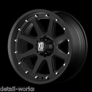 17 inch Nissan Frontier Truck Pathfinder Black Rims Wheels