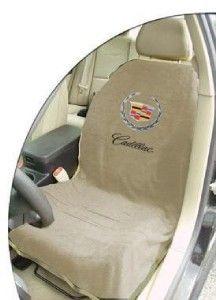 cadillac seat armour car seat towel cover tan pair