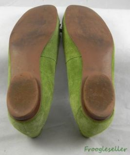 Carlos by Carlos Santana Womens Loafers Shoes 9 5 M Green Suede