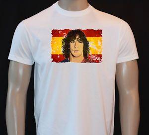 Carlos Puyol Spain Barcelona Football Kids T Shirt FB27
