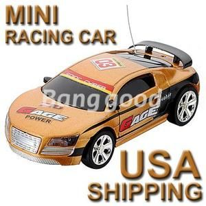 40 MHz Coke Can Mini RC Radio Remote Control Racing Car Vehicles Kids