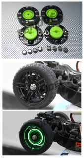 CML RC 1 10 Car on Road Car LED Dynamic Wheel Light CM079016G Green