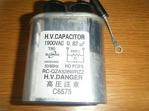 82uF 1900V Microwave High Voltage Capacitor Sharp RC QZA328WRZZ