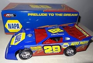 Ron Capps signed 1/24 Action #28 2008 Dirt Late Model   Prelude to the