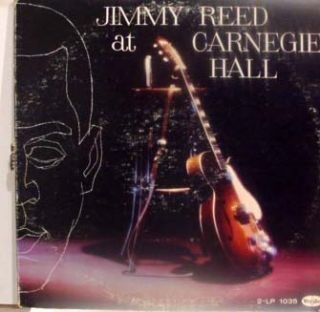 jimmy reed at carnegie hall label format 33 rpm 12 lp stereo country