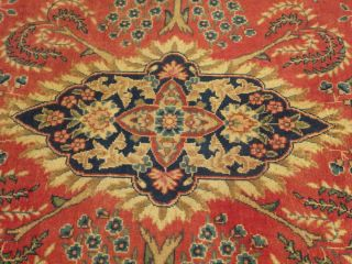 12 Beautiful Handmade Antique Persian QUM Rug Soft Wool Great
