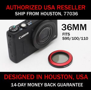Carry Speed Magfilter 36mm CPL Circular Polarizer Filter for Canon S95