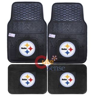 NFL Pittsburgh Steelers Car Floor Mat Auto Accessories 1