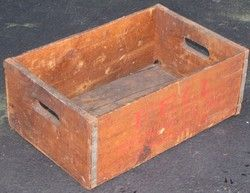 Antique Fell Brewing Company Carbondale PA Bottle Crate
