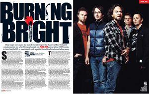 Julian Casablancas The Strokes Arctic Monkeys Pearl Jam NME Magazine