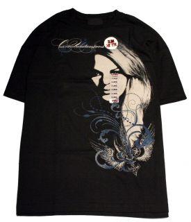 Carrie Underwood Black Cotton Slim Fit T Shirt Size XL Live Nation