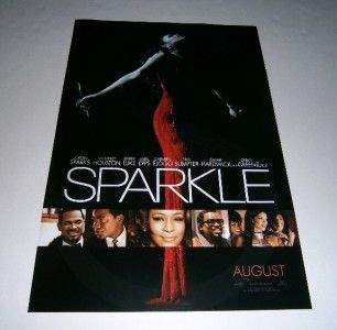 Sparkle Poster Mini One Sheet Whitney Houston Jordin Sparks Ceelo