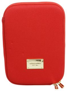 michael kors electronics kindle case e reader cover red brand new and