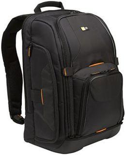 Case Logic SLR Camera Laptop Backpack w Shelves Black