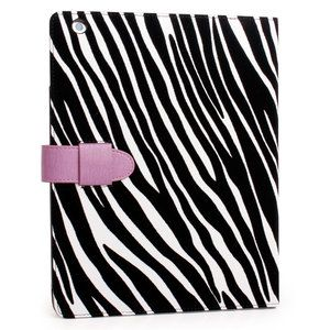 Zebra Print Protector Cover Sleeve Carrying Case Stand for Apple iPad2