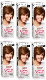Clairol Loving Care Hair Color Light Golden Brown 76 Fresh