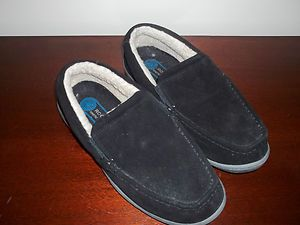 Mens Rockport Slip on Bedroom Slippers Shoes Size 9 Great Condition