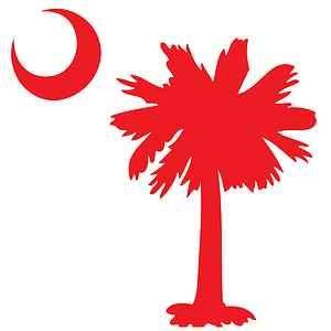 South Carolina • Palmetto Tree • Custom Vehicle Window Decal