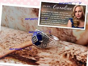 Diaries Caroline Magic Anti Sunlight Sunshine Protecting Ring