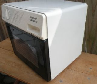 sharp half pint carousel ii microwave oven