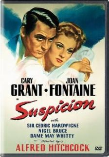 Suspicion Cary Grant Joan Fontaine 1941 DVD New