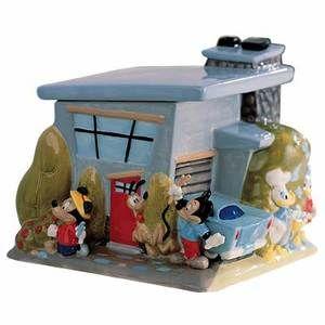 Disney Casa de Mickey & Friends Urban Cookie Jar. NEW in Box