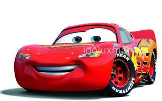 Cars McQueen Disney Decal Removable Huge Wall Sticker