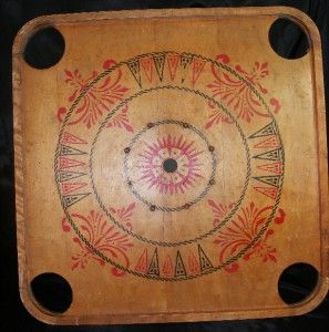 1898 1902 Archarena Wooden Game Board & Game PiecesThe Carrom Co