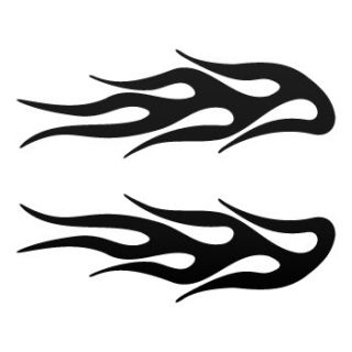 Decal Sticker Flames For Cars & Helmets KR545