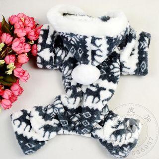 US Stock Pet Dog Cat Clothing Coat Jumper Apparel XS XXL Quick