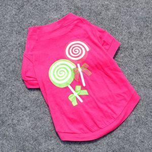 Pet Dog Cat Clothes Clothing T Shirts T shirt Summer apparel dog vest