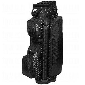 RJ Sports Ladies Boutique Cart Bag Black Polka Dot Golf