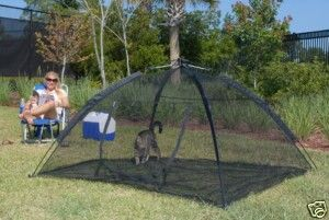 Abo Gear Happy Habitat Outdoor Cat Dog Pet Enclosure Tent Cage Shelter