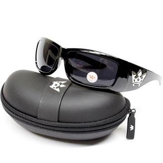 Triple Crown Gangster Biker Thug Mens Sunglasses Sports Black Original