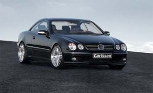 Genuine Carlsson Body Kit Front Spoiler Add on W215 Mercedes CL500 No