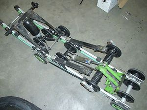 1996 Arctic Cat Thundercat 136 Rear Suspension Overload Springs Fox