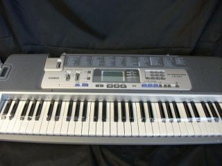 Casio LK 100 Lighted Keyboard with Premium Accessories Package
