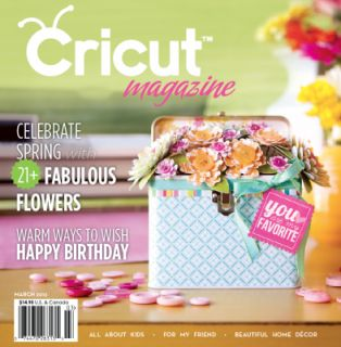 Cricut Magazine March 2012 Idea Book by Provo Craft Scrapbook Trends