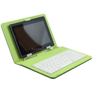 inch micro usb pu leather keyboard case pen for 7 tablet pc mid