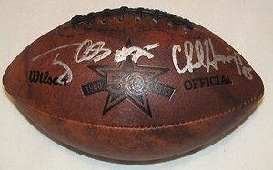 Dallas Cowboys Tony Casillas & Chad Hennings Signed 50th Anniversary