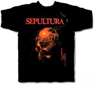 CD cvr Beneath The Remains Official Shirt XL Soulfly Cavalera
