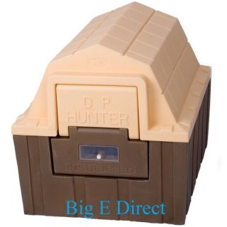 Hunter Outdoor Indoor Insulated Small Pet Cat Dog House Bedding
