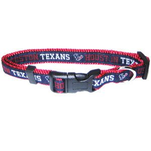 NFL Football Adjustable Nylon Dog Cat Collar Leash Available