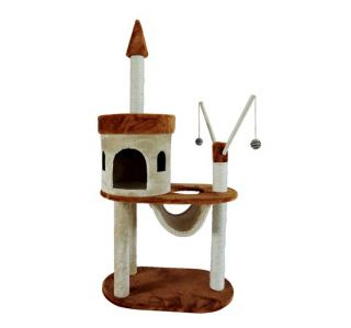 Cat Scratch Tree House Condo Post Pet Bed Tower Furniture Play Toys
