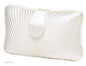 Carlo Fellini Satin Hard Body Clutch Evening Handbag Purse 71 973 in